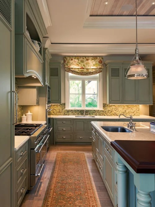 Sage Kitchen Cabinets Home Design Ideas Pictures Remodel