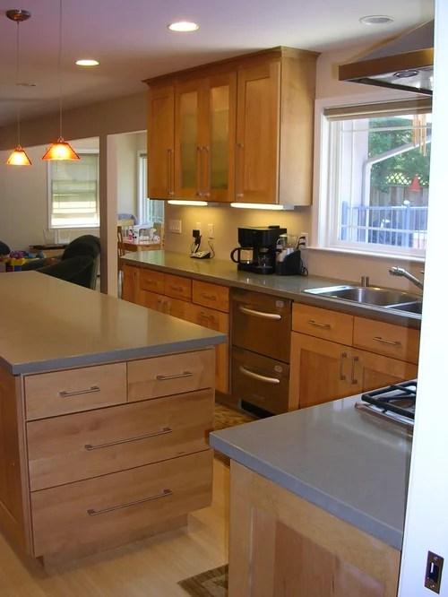 stainless steel single bowl kitchen sink renovation costs nj grey caesarstone countertop design ideas & remodel ...
