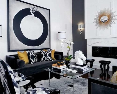 Black White Gold  Houzz