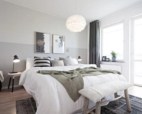 scandinavian bedroom design grey Scandinavian Bedroom Design Ideas, Remodels & Photos   Houzz