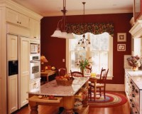 Burgundy Accent Wall Home Design Ideas, Pictures, Remodel ...