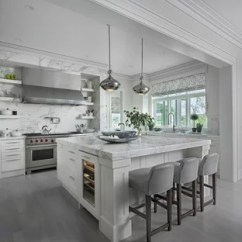 Gray Tile Kitchen Floor Design For A Small Space White Cabinet Ideas Houzz Transitional Designs Example Of L Shaped In