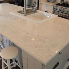 Stainless Steel Single Bowl Kitchen Sink Cabinet White Carrera Quartz Countertops Ideas, Pictures, Remodel And Decor