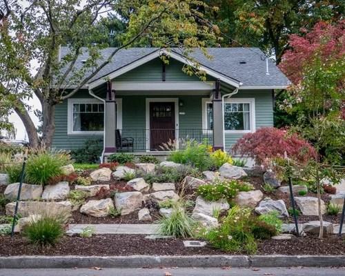 rock landscape home design ideas