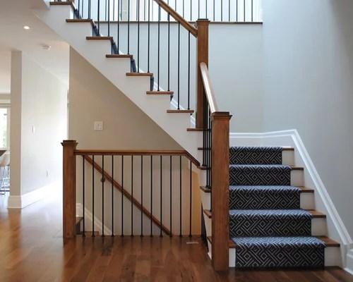 L Shaped Staircase Design Ideas Renovations Photos | L Shape Stair Design