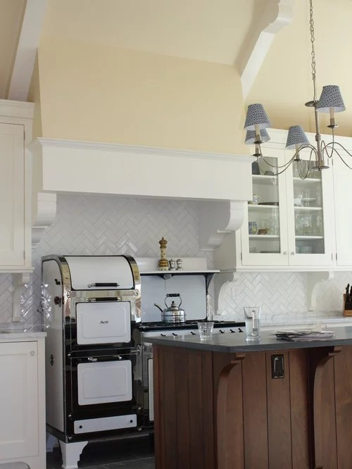 Herringbone Subway Tile Backsplash Home Design Ideas