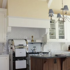 Small Kitchen Cabinets Industrial Faucet Herringbone Subway Tile Backsplash | Houzz