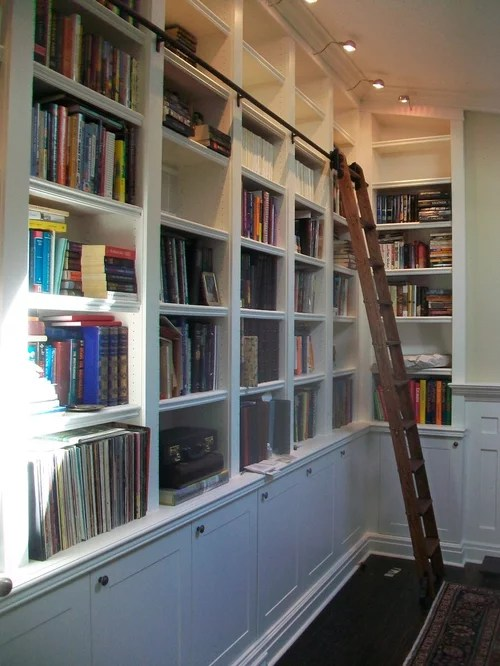 Ladder Bookcase With Desk