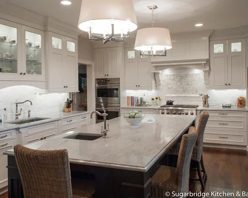 wood mode kitchen cabinets cost of new sea pearl quartzite countertop | houzz