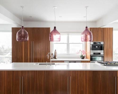 Modern Walnut Kitchen Cabinets Houzz