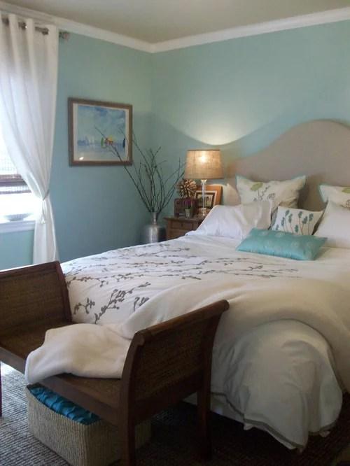 Coastal Master Bedroom Home Design Ideas Pictures