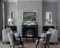 Blue Gray Living Room