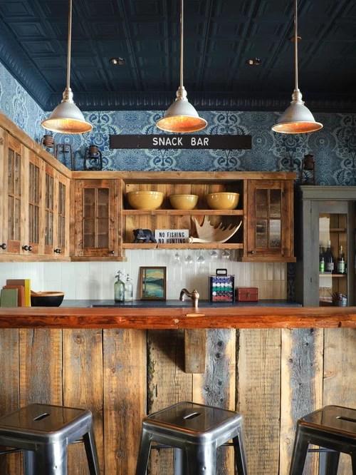 Barnwood Bar Houzz