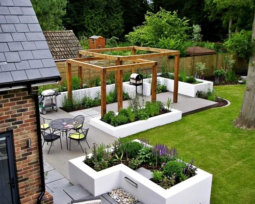 raised flower bed design ideas