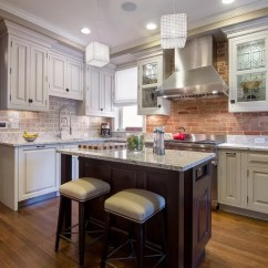 Narrow Kitchen Island With Seating Artwork For Walls Small   Houzz