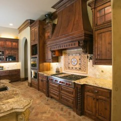 Tuscan Kitchen Island Islands Brick Floor Home Design Ideas, Pictures, Remodel ...