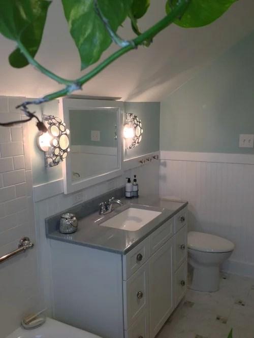 Cottage Style Bathroom  Houzz