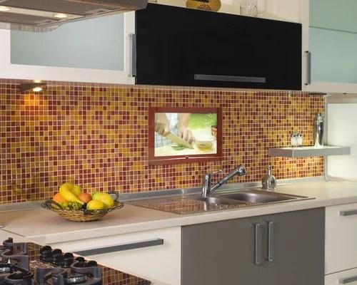Kitchen Tv Houzz