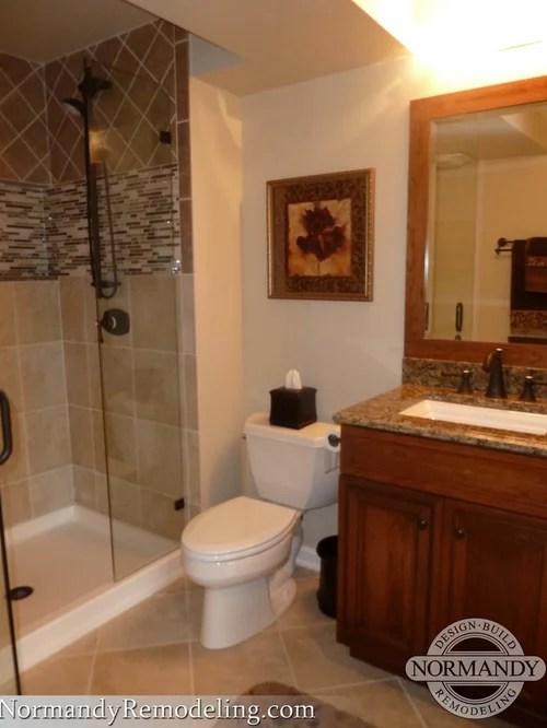 Basement Bathroom  Houzz