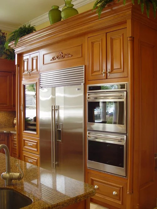 eat in kitchen island retro light fixtures best refrigerator next to oven design ideas & remodel ...