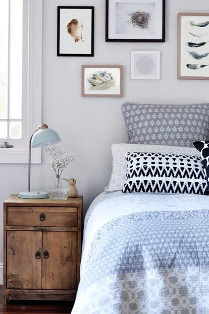 Scandinavian Bedroom by Greenwood's Home