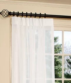 need help with sliding door curtains