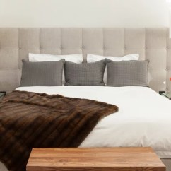 Hickory Chair Bedside Tables Recliner Camping Houzz Tour: A Minimalist Home That's Family-friendly Too
