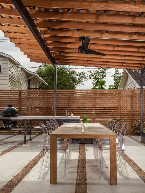 Horizontal Cedar Fence Design Ideas  Remodel Pictures  Houzz
