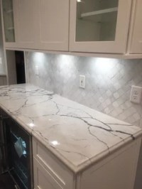 Suggestions for backsplash with Calacatta Lago and Shiloh ...