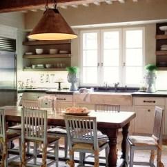 1950s Kitchen Table Make Over 再见 岛屿 你好 餐桌 长装网 长沙装修平台 邓文迪年轻设计当椅子桌子周围 而不是典型的岛上凳子是沿着src Https St Hzcdn Com Fimgs 8ad1928d0ed6a9f2 1371 W618 H409 B0 P0 Farmhouse Jpg