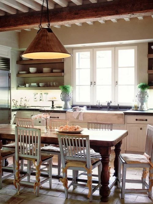Counter Height Farm Table Ideas Pictures Remodel and Decor