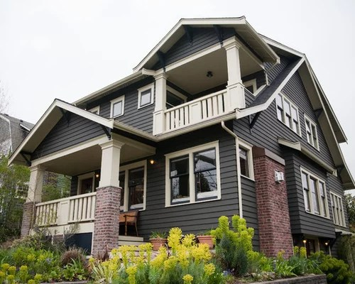 Craftsman Exterior Home Idea In Seattle