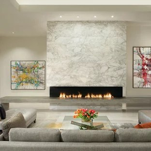 white wall decorations living room contemporary chairs 75 most popular marble floor design ideas for 2019 mid sized formal and open concept