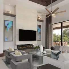 Modern Living Room Styles Design Ideas For Rooms 75 Most Popular 2019 Stylish Example Of A Large Minimalist Open Concept Porcelain Floor And Beige In