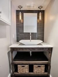 Open Bathroom Vanity | Houzz