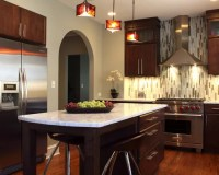 Vertical Backsplash Tile Home Design Ideas, Pictures