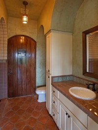 Spanish Bathroom Home Design Ideas, Pictures, Remodel and ...