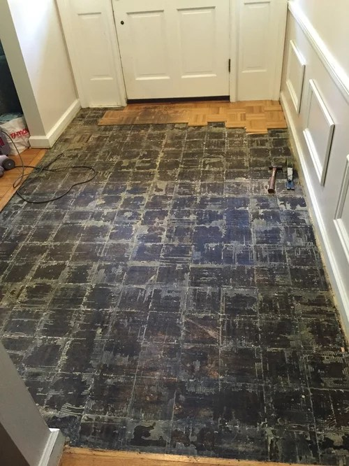 high tile or remove subfloor help