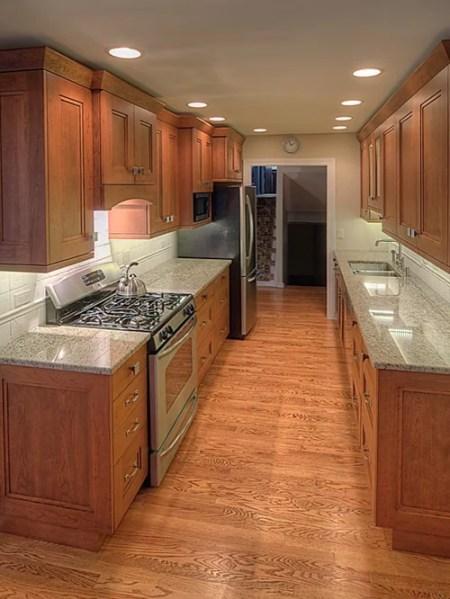 galley kitchen design layout Wide Galley Kitchen Home Design Ideas, Pictures, Remodel