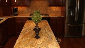 Golden Crystal Granite Home Design Ideas, Pictures