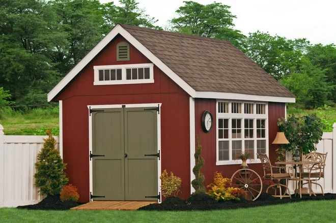 Traditional Shed by Sheds Unlimited INC