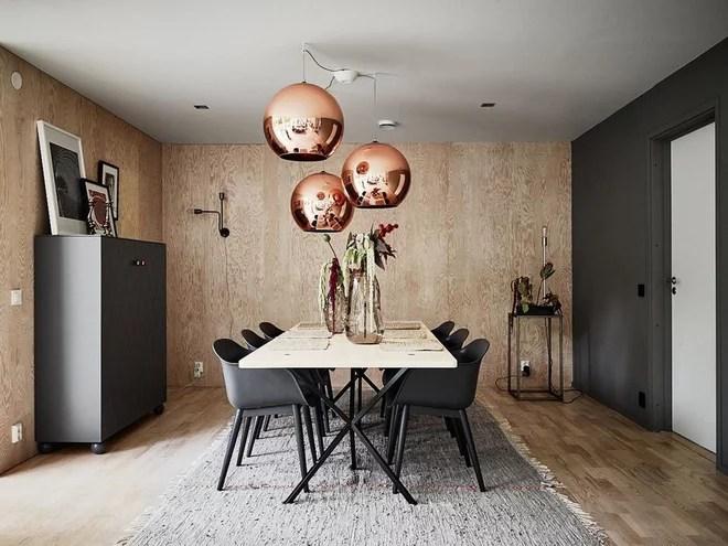 Scandinavian Dining Room by Svensk Fastighetsförmedling