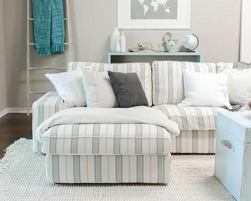 ikea kivik sofa review companies online nautical themed living room- custom slipcover by ...