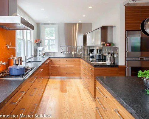 contemporary kitchen backsplash suppy jet mist granite | houzz