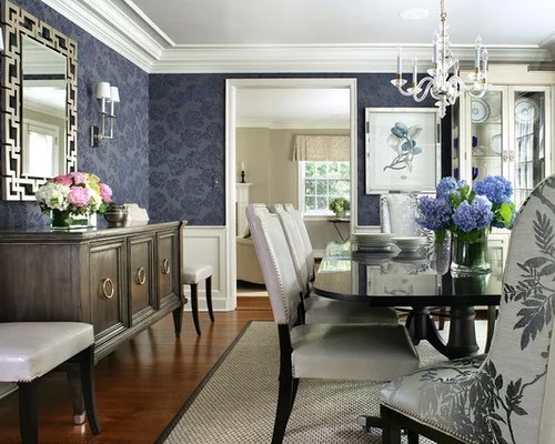 Navy Blue Dining Room Ideas Pictures Remodel and Decor