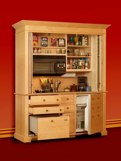 This Sensational Armoire With A Built In Desk On The Computer Is Perfect Solution
