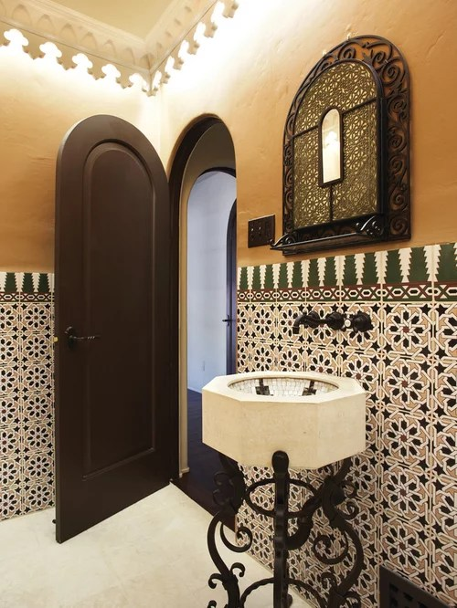 Moroccan Style Bathroom  Houzz