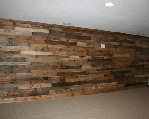 Best Pallet Wood Wall Design Ideas  Remodel Pictures  Houzz