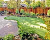 Backyard Putting Green Home Design Ideas, Pictures ...