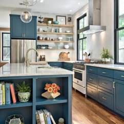 Green Kitchen Cabinets Table Island Is This The Year Blue And Edge Out White Farmhouse By Element 5 Architecture